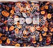 Заморожені фрукти  - слива