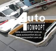 Люк автомобильный, металлический, 60х75, с аварийным выходом и полным открытием/закрытием