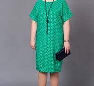 Женское платье большого размера М195
