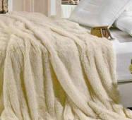 Покривало на ліжко з великим ворсом