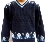 Весенний свитер для мальчика 2522