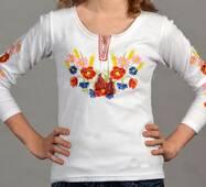 Детская вышиванка для девочки Фдд02
