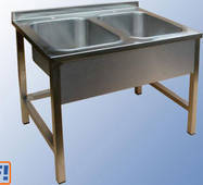 Ванни мийні з нержавіючої сталі