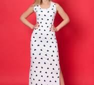 Женское длинное платье 918