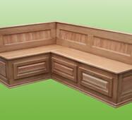 Деревянные кухонные уголки