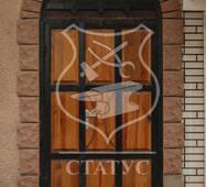 Решетки на двери ручной ковки