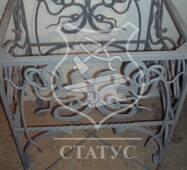 Кованый каркас стола