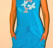 Жіночий літній сарафан для дому 042