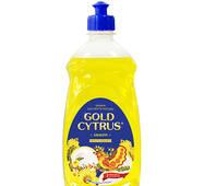 Gold Cytrus - рідина для миття посуду - лимон