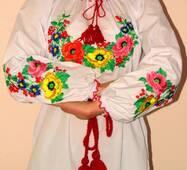 Вишиванка жіноча Букет