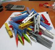 Прищіпка пластикова для білизни  Фабричне виробництво ГУРТ