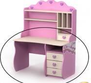 Стол письменный BR-Pn-08-2 Pink (Пинк)