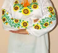 Вишиванка жіноча Соняшники