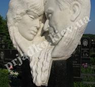 Мраморна скульптура для двох