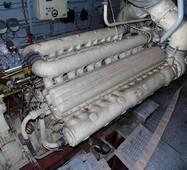 Двигун М401А-1 ЛВ (з реверс-редуктором) ВАТ Зірка, Ленінград