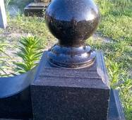 Шар для могилы, 8 см
