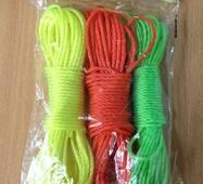 Мотузка для білизни 3 шт / 10м
