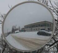 Наружное обзорное зеркало для производства и складов UNI 600