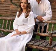 Вишиванка чоловіча і жіноча сукня