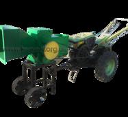 Дробильная машина (измельчитель веток) мотоблочный