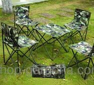 Меблі для пікніка і відпочинку 4 предмети