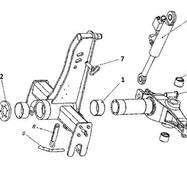 Запчастини передка і оборотника плуга Unia Ibis M2+
