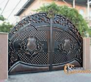 Кованые ворота №128