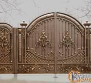 Ворота кованые №91