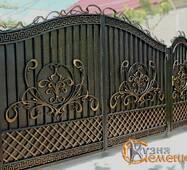 Ворота кованые №61