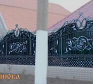 Кованый забор №201