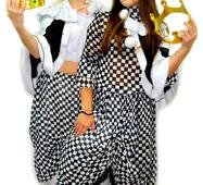Карнавальный костюм Шахматная королева, взрослый