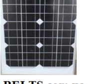 Сонячна панель 20w 18v Solar Panel (батарея)