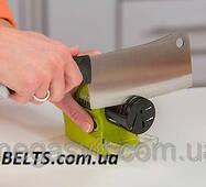 Безпровідне точило для ножів і ножиць Swifty Sharp Motorized Knife Sharpener (ножеточка Свифти Шарп)