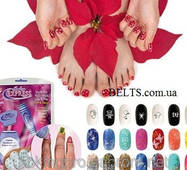 Набор для манікюру Салон Експрес, набір для малюнків на нігтях Salon Express