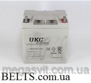 Акумулятор UKC 12v 24a, батарея гелю акумуляторна УКС 12 вольт 24 Ампер