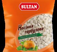 Тыквенные семечки подсоленные, 40 г, ТМ SULTAN, купить в Украине