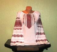 Жіноча вишиванка ручної роботи недорого