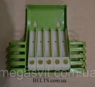 Полиця органайзер для ванного приладдя (ящик у ванну) Toothbrush box