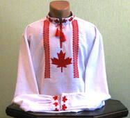 Канадська вишиванка ручної роботи