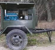 САК дизельний (зварювальний агрегат), пересувний, двигун Т40