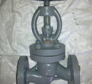 Клапан запірний сталевий фланцевий 15с22нж  (15с22п) РУ40 ДУ15-200