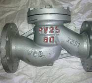 Клапан зворотный сталевий фланцевий РУ25 16с10нж