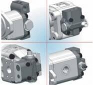 Вбудовані клапани для гідравлічних шестеренних насосів і двигунів Casappa