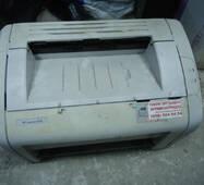 Лазерный принтер HP LaserJet 1018 на запчасти