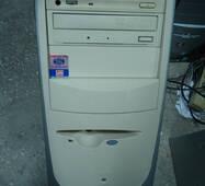 Компьютер Pentium 4 1.4 ГГц на запчасти