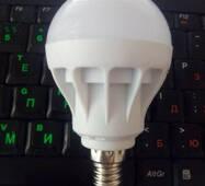 Светодиодная лампа 5w E14 LED 9 ярких диодов 5730