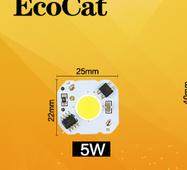 Світлодіод 220v AC 5W COB LED драйвер 220В 5 Вт
