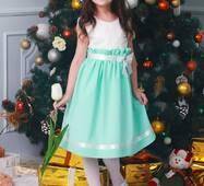 Нарядне дитяче плаття для дівчинки 004