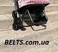 Сумка на потрійних колесах з доладним стільцем (візок із стільчиком)