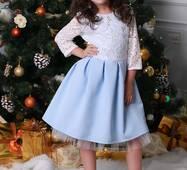 Нарядне дитяче плаття для дівчинки 021